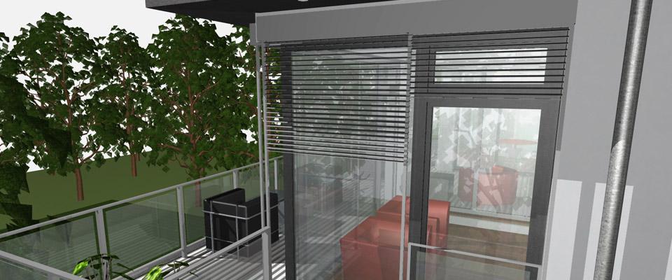 Das Penthouse (Der Horst) garantiert Ihnen Privatsphäre ein Leben lang.